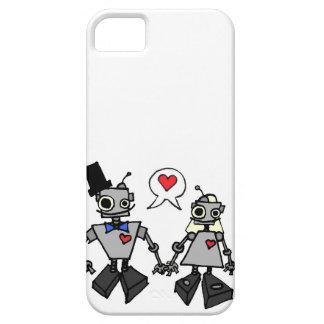 Wedding robots iPhone 5 case