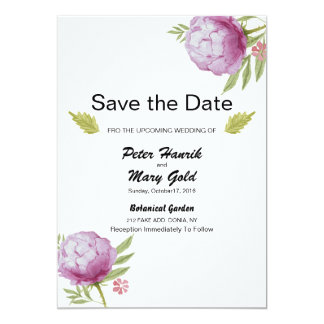 Wedding Save The Date Announcement