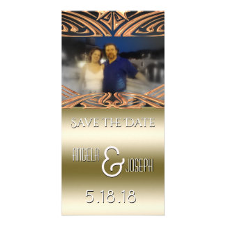 Wedding Save the Date Announcement | Save Our Date Photo Card