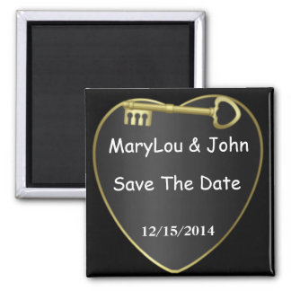 WEDDING Save The DATE Magnet  Design