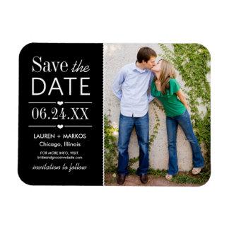 Wedding Save the Date Magnet Modern Love Magnet