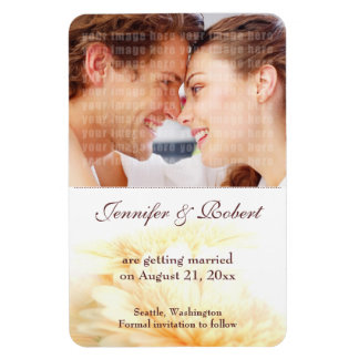 Wedding Save the Date Premium Magnet