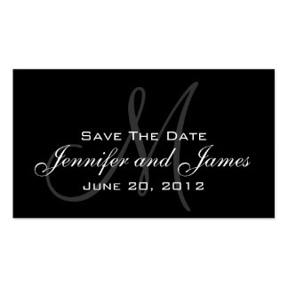Wedding Save the Date Website Card Pack Of Standard Business Cards