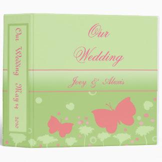 Wedding Scrapbook Photo Binder