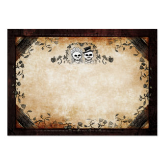 Wedding Seating Cards BLANK FRONT Skeltons Large Business Card