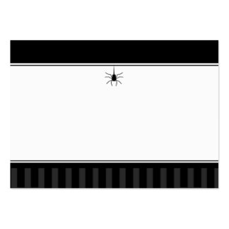 Wedding Seating Cards BLANK - Gothic Spider Large Business Card