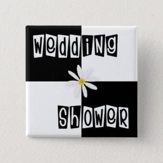 Wedding Shower 2 Inch Square Button
