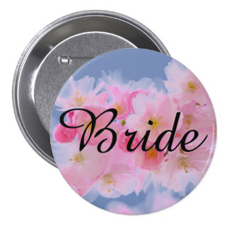Wedding Shower or Bachelorette Party 3 Inch Round Button