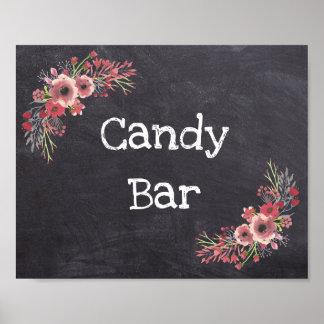 Wedding Sign Candy Bar Chalkboard Look
