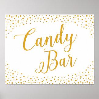 Wedding Sign – Candy Bar Confetti Wedding Sign