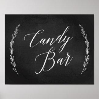 Wedding Sign – Candy Bar Wedding Chalkboard Sign