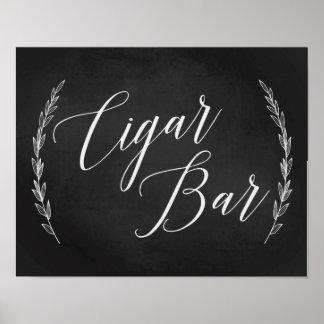 Wedding Sign – Cigar Bar Wedding Chalkboard Sign