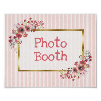 Wedding Sign Photo Booth Chalkboard Look