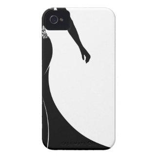 Wedding Silhouette Bride Case-Mate iPhone 4 Case