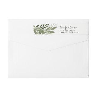 Wedding Sprigs Return Address Label