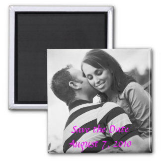 Wedding Square Magnet