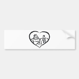 Wedding Stamps 29 Bumper Stickers
