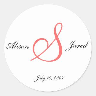 wedding stickers