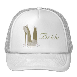 Wedding Stiletto Shoes Art Gifts Trucker Hat