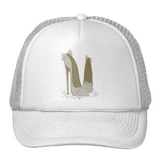 Wedding Stiletto Shoes Art Trucker Hat