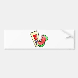 Wedding Supplies 12 Bumper Stickers