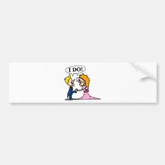 Wedding Supplies 15 Bumper Stickers