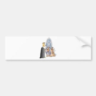 Wedding Supplies 21 Bumper Stickers
