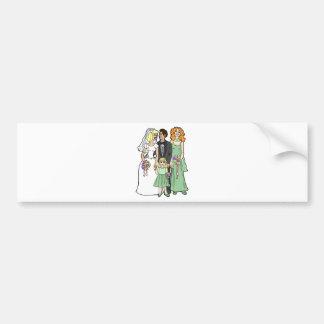 Wedding Supplies 37 Bumper Stickers