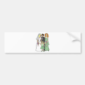 Wedding Supplies 37 Car Bumper Sticker