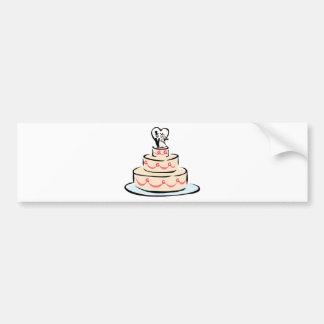 Wedding Supplies 40 Car Bumper Sticker
