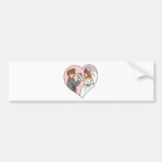 Wedding Supplies 45 Bumper Stickers