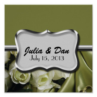 Wedding, Sweet Sixteen, Baby/ Bridal Shower Poster