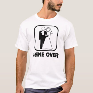Wedding Symbol Game Over T-Shirt