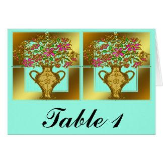 Wedding Table Seating Card