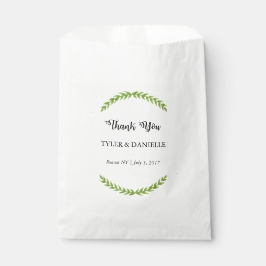Wedding Thank You Bag