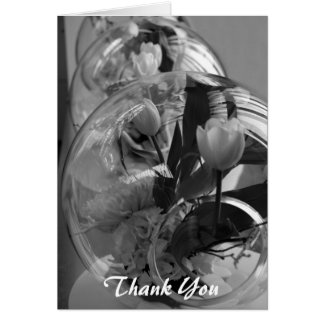 wedding thank you (blank) greeting card