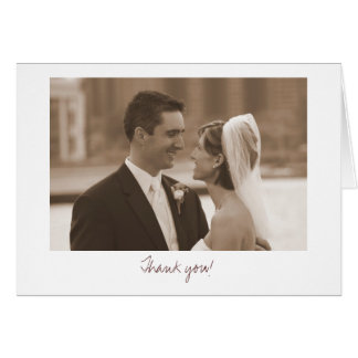 Wedding (Thank you!) Card