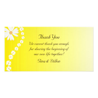 Wedding Thank You Cards Picture Card