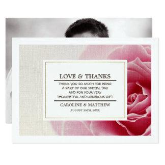 Wedding Thank You Custom Photo Cards