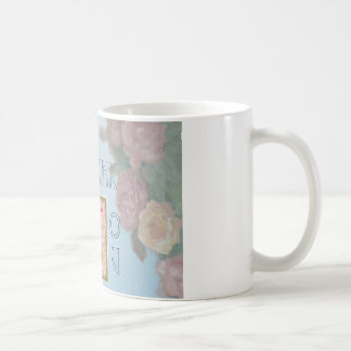 WEDDING THANK YOU FLORAL GIFT CLASSIC WHITE COFFEE MUG