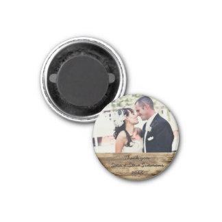 Wedding Thank you Photo Magnet
