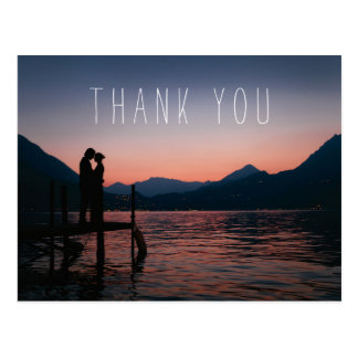 Wedding Thank You Postcards Honeymoon Postcards