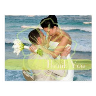 Wedding Thank you postcards insert your photos