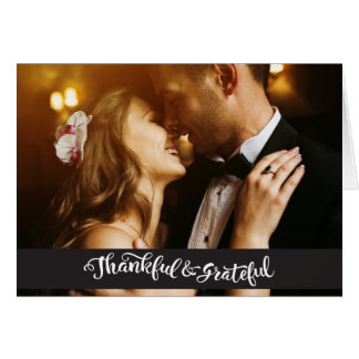 Wedding Thank you Postcards Note Cards Photocard