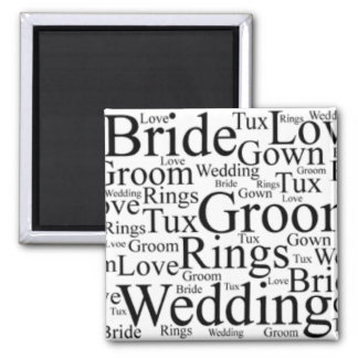 Wedding Thoughts Magnet
