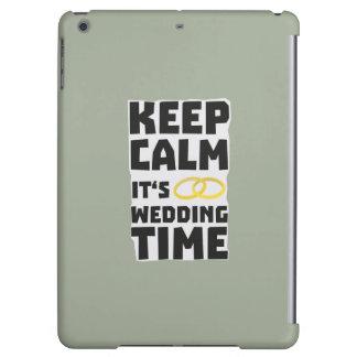 wedding time keep calm Zw8cz Case For iPad Air