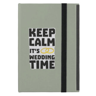 wedding time keep calm Zw8cz Cover For iPad Mini