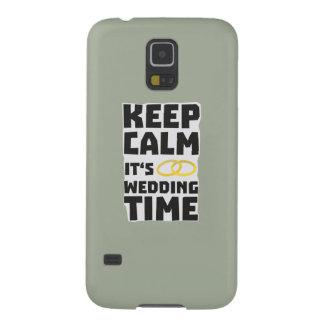 wedding time keep calm Zw8cz Galaxy S5 Case