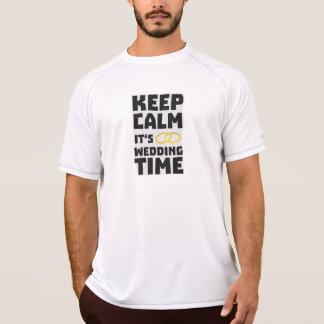 wedding time keep calm Zw8cz T-Shirt