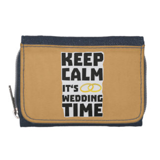 wedding time keep calm Zw8cz Wallet